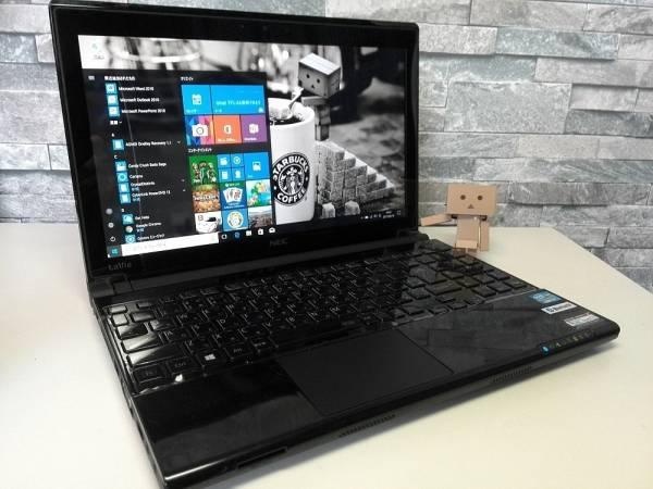 Win10☆NEC LaVie LM750/L Core i7-3537U 高速新品SSD240GBで動作快適♪ メモリ8GB Office ブルーレイ Bluetooth 13.3型&長時間駆動☆