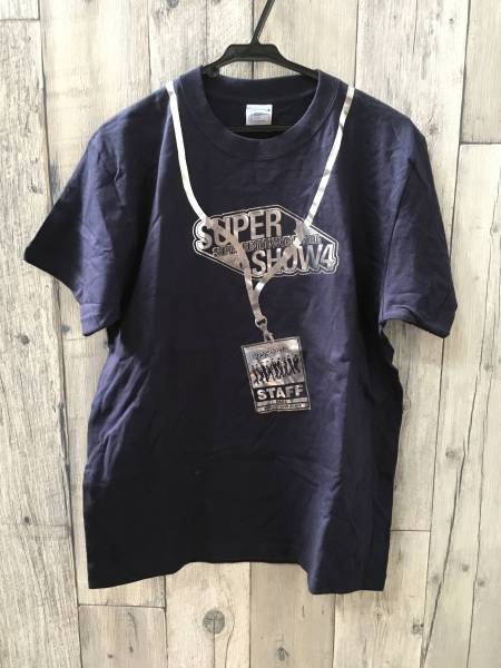 新品 SUPER JUNIOR-SUPER スーパージュニア スタッフTシャツ ライブグッズの画像