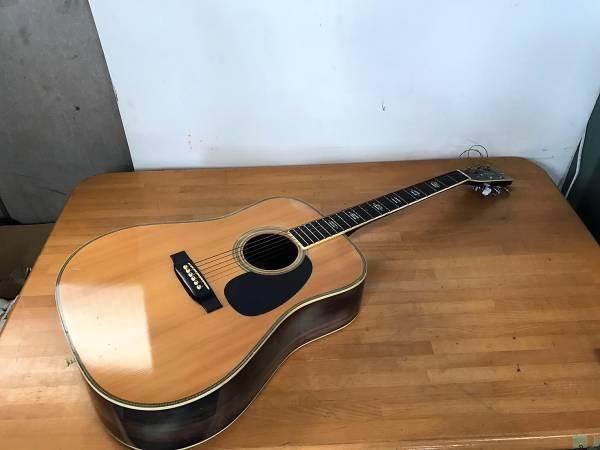 (94) Yamaki ヤマキ アコースティックギター ハードケース付 1954