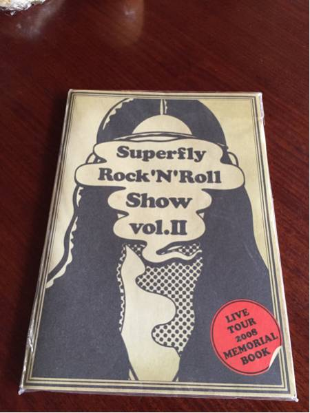 【美品】superfly/Rock'N'Roll Show vol.Ⅱ Live tour 2008 パンフ レア品