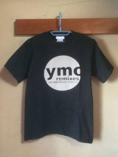 YMO REMIXES TECNOPOLIS Tシャツ 細野晴臣 高橋幸宏 坂本龍一 バンドT