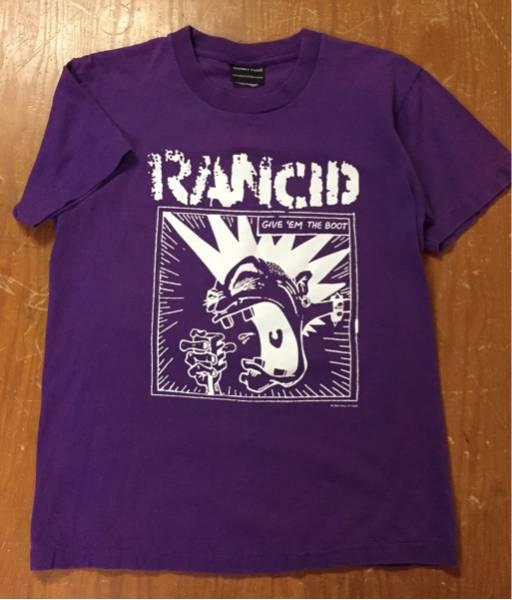 ■美品■RANCID/ランシド■パープル■Tシャツ■S