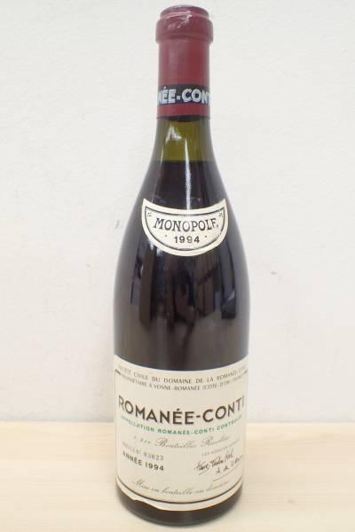 1円~!希少 未開栓 DRC ロマネコンティ 1994 ROMANEE-CONTI 750ml kny61M