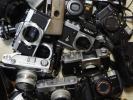 ニコンF、ニコンF2、オリンパスOM1など、ジャンクカメラ多数