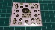 JR東日本モバイルSuicaペンギン立体シール非売品