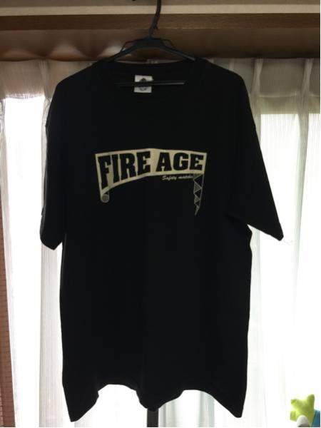 ザ・クロマニヨンズ ファイヤーエイジ FIRE AGE ツアーシャツ XLくらい ライブグッズの画像