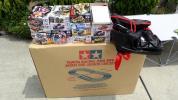 中古ミニ四駆ジャパンカップジュニアサーキットコースといろいろです。