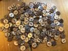 ★【送料無料】ベトナム製ココナッツボタン(10mm)50g★(300個ぐらい入ってます)