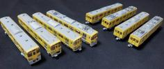 GM製西武鉄道車両キット組み立て品8両 (ジャンク扱い)