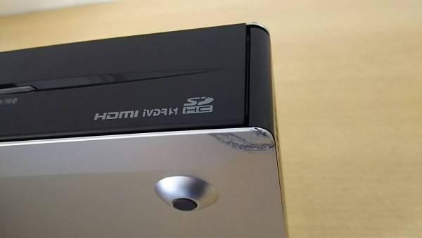 日立 32型Wooo UT32-HV700B 液晶テレビモニター+フタ難有ステーション(iVDR搭載) 新品リモコン・新品B-CAS付_画像3