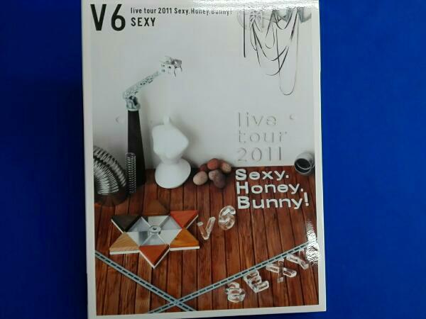 V6 live tour 2011 Sexy.Honey.Bunny!(初回限定版B)(Sexy盤) コンサートグッズの画像