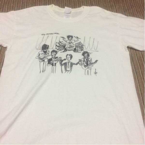 ロック☆THE STROKES☆2002年初来日ツアーTシャツ半袖白
