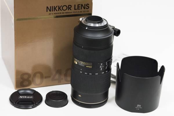 美品 ニコン NIKON AF-S 80-400mm F4.5-5.6G ED VR 完動品