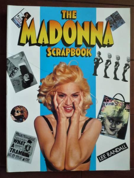 THE MADONNA SCRAPBOOK マドンナ 1993年 スクラップブック 写真集 イギリス 美品 洋書 英語 LEE RANDALL ライブグッズの画像