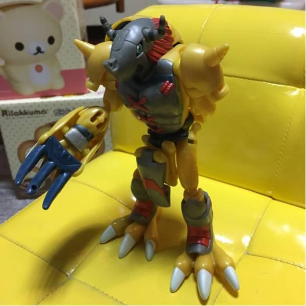 ★ウォーグレイモン!デジモン!超進化シリーズ!バンダイ!ジャンク!★ グッズの画像
