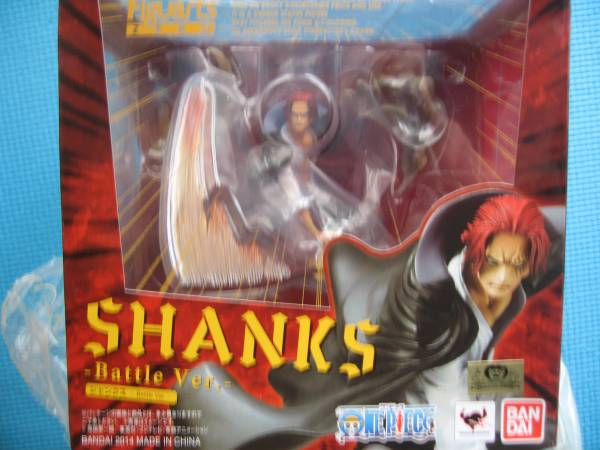 Figuarts zero SHANKS Battle Ver ライブグッズの画像