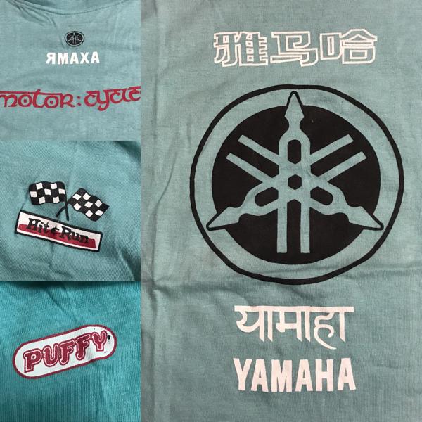 超レア'97PUFFYxYAMAHA限定Tシャツ ライブグッズの画像