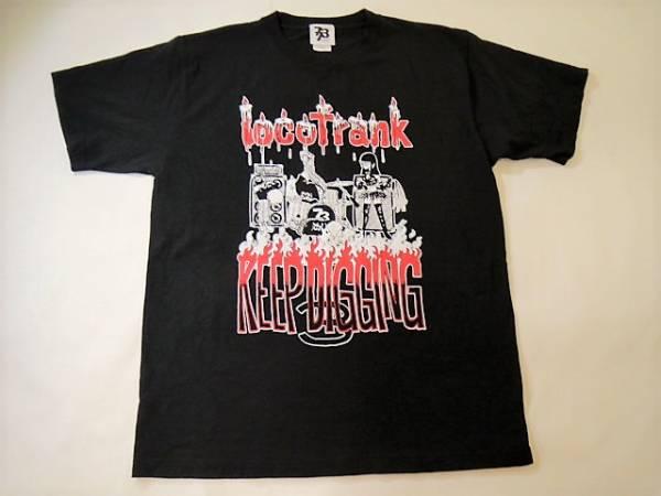 ◆locofrank ロコフランク◆2010 KEEP DIGGING 3 ツアー パンクバンドTシャツ:L