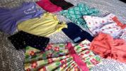 ジンボリー、カーターズ, Gapギャップの子供服ベビー服10点セットまとめ売り。 12-18m サイズ80 ワンピース、カーディガン、パーカーなど