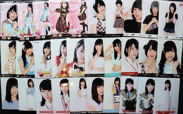 HKT48 下野由貴 生写真 30枚 まとめ売 n-2420