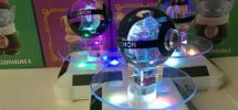 ★ポケモン彫刻入り3D水晶ボール★リザードン、ゲンガー、ゼニガメ、ミュウツー、ミュウ、ピカチュウ、ヒトカゲ、カイリュー、カメックス