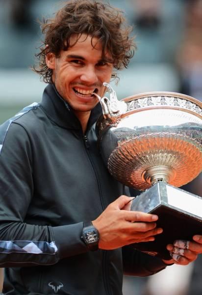ラファエル・ナダル 2L判写真1枚 テニス ⑯