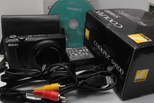 ★実用美品★期間限定値下げ★ ニコン Nikon COOLPIX S9100★付属品 希少な元箱★940