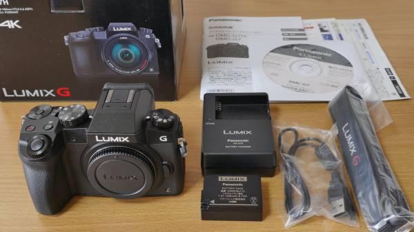 Panasonic LUMIX DMC-G7 ボディ【おまけ付き】