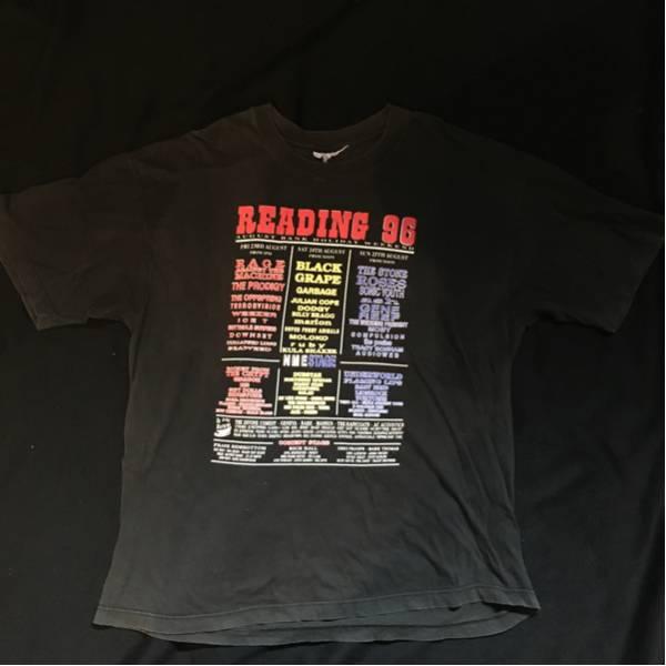 超レア READING 96 FES Tシャツ XL レディング フェス バンド ロック HIPHOP rage ice-t sonic youth flaming lips