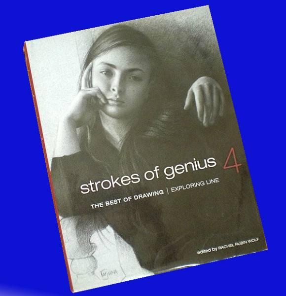 洋書 天才のドローイング4/ Strokes of Genius 4: The Best of Drawing / Exploring Line(輸入品_画像1