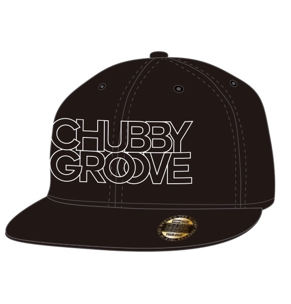 """INABA / SALAS """"CHUBBY GROOVE TOUR 2017"""" 完売商品(キャップ)"""