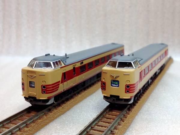 精密加工 381系「やくも」 クモハ381 国鉄色アコモ改車 285系,115系,キハ181,キハ58などと