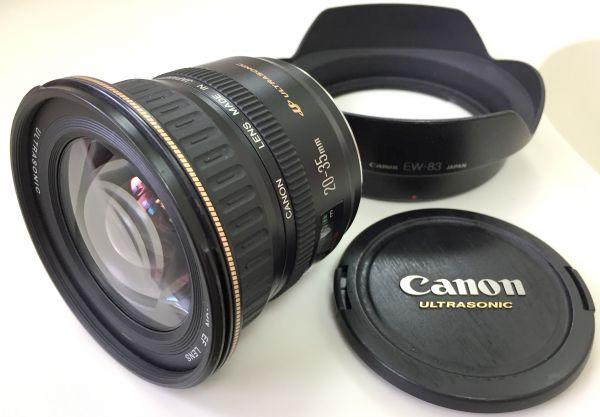 1円~CANON ZOOM LENS EF 20-35mm 1:3.5-4.5 ULTRASONIC 中古動作品