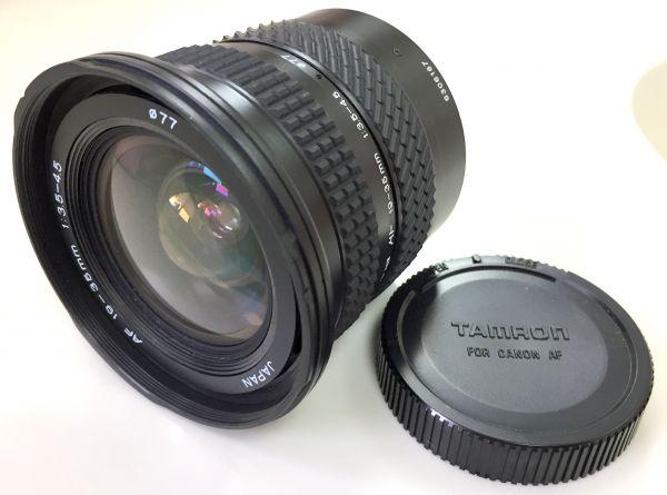 1円~Tokina AF 19-35mm 1:3.5-4.5 CANON用 状態良好品
