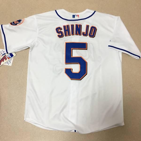 MLB メッツ 新庄剛志 #5 ジャージ ユニフォーム グッズの画像