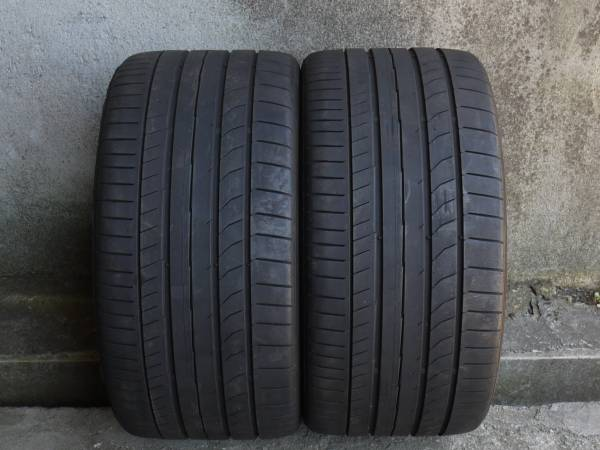 285/30ZR19 98Y 2014年 【7.5分山】 Conti Sport Contact 5P 2本セット♪