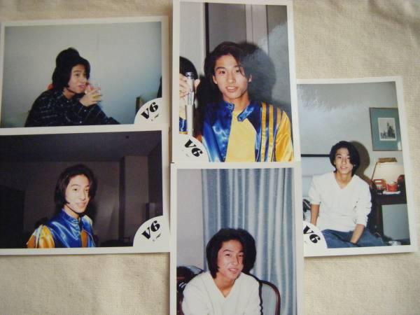 V6 三宅健 公式写真 5枚セット