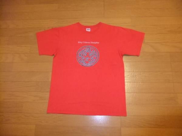 anvil Tシャツ レッドL King Crimson Discipline キングクリムゾン ディシプリン 古着 ライブグッズの画像