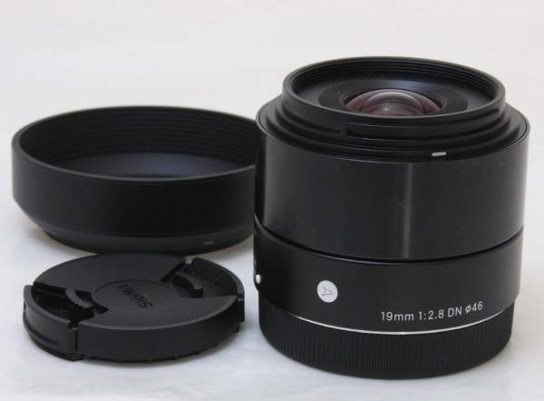 SIGMA Art 19mm F2.8 DN (ソニーE用) ★美品・正常作動保証付(06689)