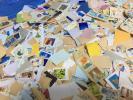 使用済み記念切手のキロボックス約8.3kg(箱とも #5