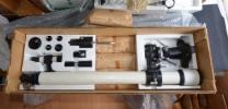 エイコー・EIKOW望遠鏡セット ST-605 未使用品に近い製品です