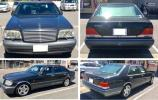 メルセデスベンツ S600 W140 左ハンドル 1995年