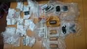 R31 スカイライン ターボ ハイキャス リアサスペンション スタビライザー 周辺部品 新品 製造廃止 ボルトはブッシュ カラー ナット 他多数