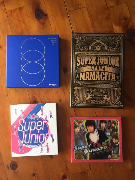 superjunior アルバムセット ライブグッズの画像