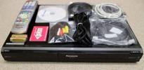 2番組W録画/HDD250GB/DVDレコーダー Panasonic DMR-XW100■