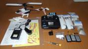 ヒロボー SRBクオークSG ver1.2 プロポ付き 完成品 おまけ 電池 動作確認済 現状品