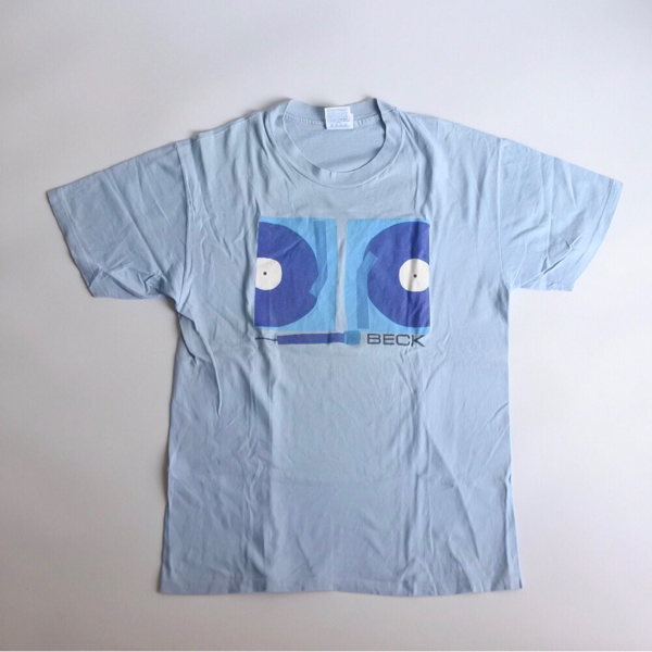 90s vintage BECK ベック Tシャツ WHERE IT'S AT バンドT