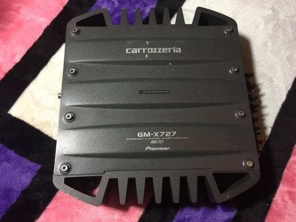 carrozzeria カロッツェリア GM-X727 アンプ 2ch