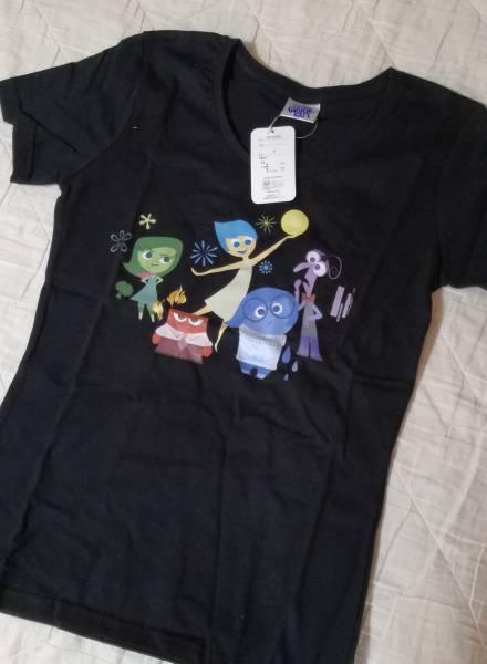 ディズニー Tシャツ(Sサイズ) インサイドヘッド ヨロコビ カナシミ ムカムカ ビビリ イカリ ディズニーグッズの画像