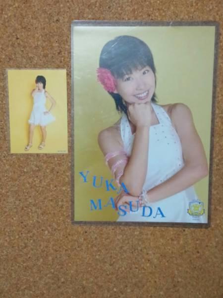 増田有華ミニポスター(AKB48ファーストコンサート)同衣装生写真付き ライブ・総選挙グッズの画像